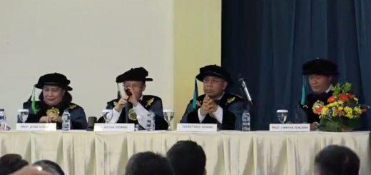 Foto Orasi Prof. I Wayan Sengara