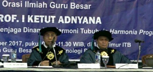 FOTO Orasi Prof. I Ketut Adnyana