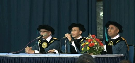 Foto Orasi Prof. Hendra Grandis
